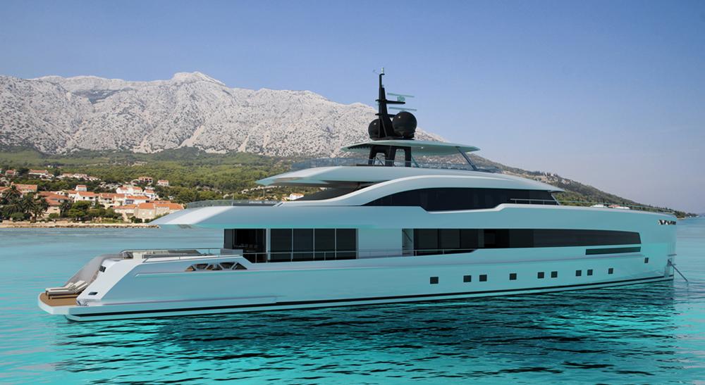 ISA Yachts Yara 48m