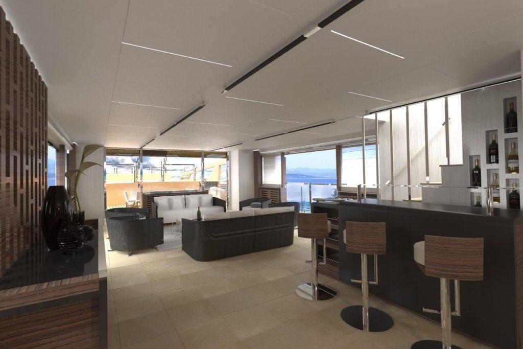 Oceanemo 33m_Main saloon