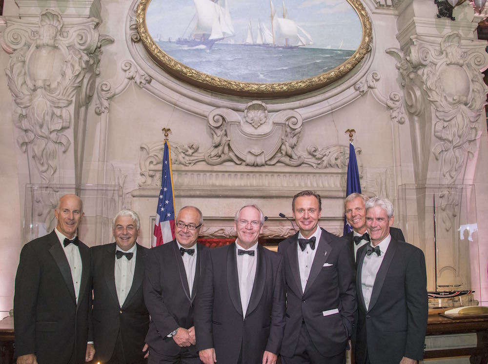 Hall of Fame induction for Ernesto Bertarelli Alinghi and Lord Dunraven