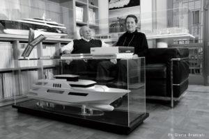 I fondatori dello Studio Zuccon International Project_Gianni Zuccon e la moglie Paola Galeazzi