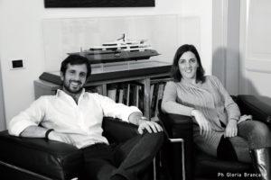 La nuova generazione dello Studio Zuccon International Project. I figli dei fondatori, Bernardo e Martina Zuccon