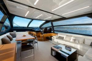 La Spezia, Italy, 17 September 2015. Ferretti Group Riva Yachts The new Riva Perseo 76 feet Ph: Guido Cantini /Riva
