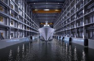 Oceanco launches the largest yacht ever built in The Netherlands - 110m/361ft project JUBILEE  Oceanco?s outstanding project JUBILEE, with striking exterior styling by Lobanov Design, grand interior by Sorgiovanni Designs and owner?s representation by Burgess, is the largest yacht ever built i...