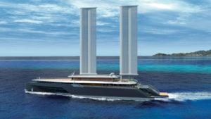 Superyacht trimaran Komorebi by VPLP Design (2)