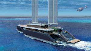 Superyacht trimaran Komorebi by VPLP Design (4)