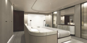 Azimut Grande 35METRI Owner cabin