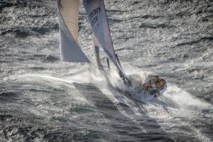 Start of Leg 2. Day 1 from Lisbon to Cape Town. Photo by Ainhoa Sanchez/Volvo Ocean Race. 05 November, 2017