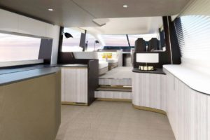 Azimut Flybridge 55_living