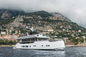 M_Y Jestetter (39m) in the bay of Monaco