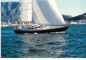 The SW72 Aga Jari, the boat Willy Persico says marked the start of the Southern Wind success story