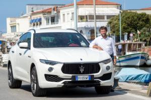 Giovanni Soldini e la Maserati Levante