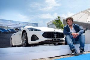 Giorgio Rocca e la Maserati GranCabrio Sport al VYR