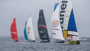 Newport stopover. Gurney's Resorts In-Port Race. 19 May, 2018.
