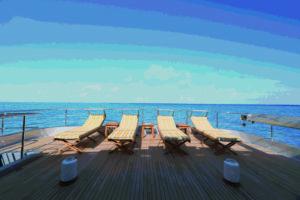 CODECASA 43 - HULL C122 - Sun loungers-SUN DECK